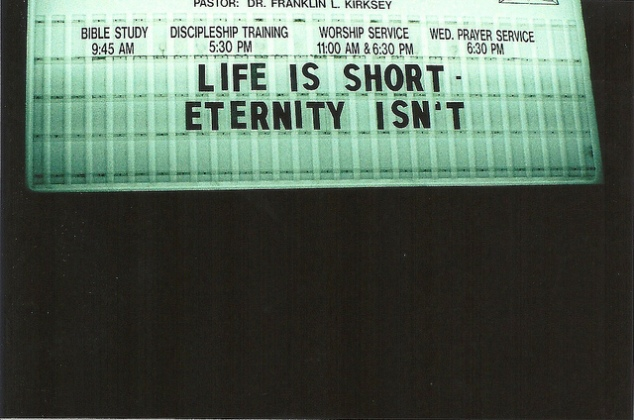life is short eternity isnt bethany c flickr