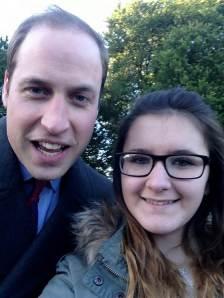 """""""Hiiii j'ai fait un selfie avec le prince William !"""""""